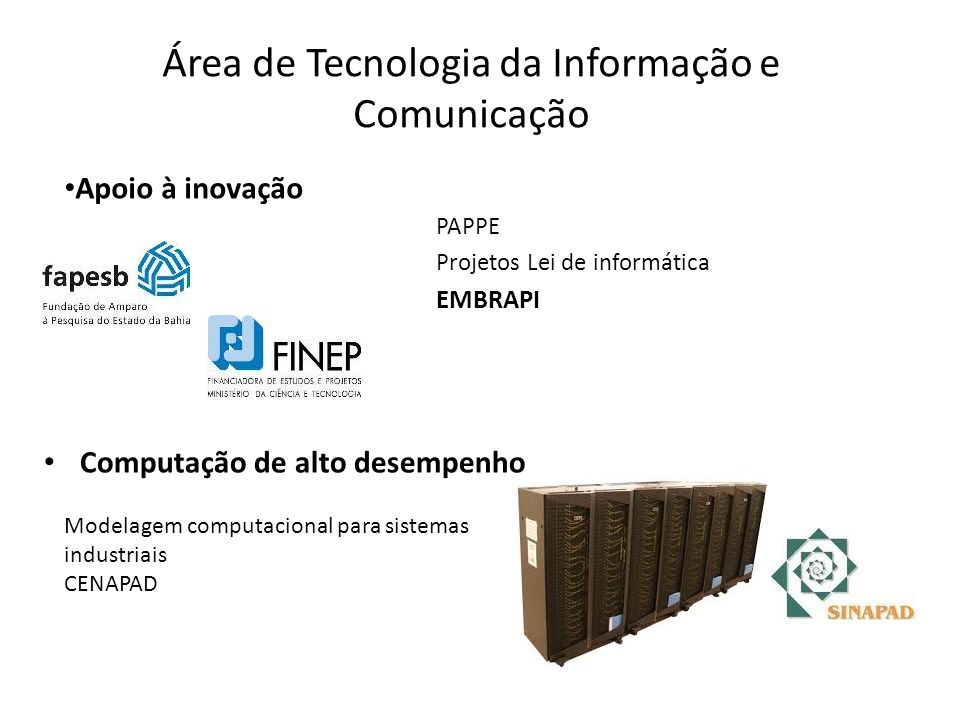 Área de Tecnologia da Informação e Comunicação