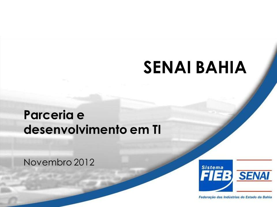 Parceria e desenvolvimento em TI Novembro 2012