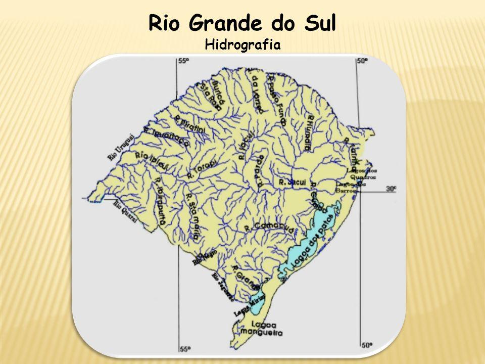 Rio Grande do Sul Hidrografia