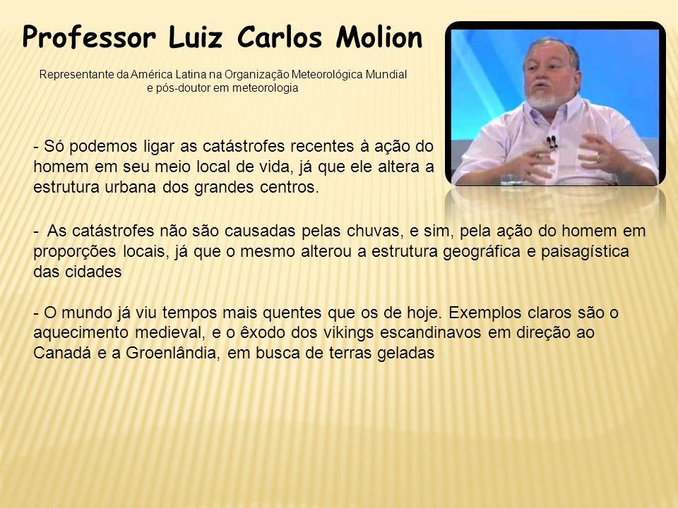 Professor Luiz Carlos Molion