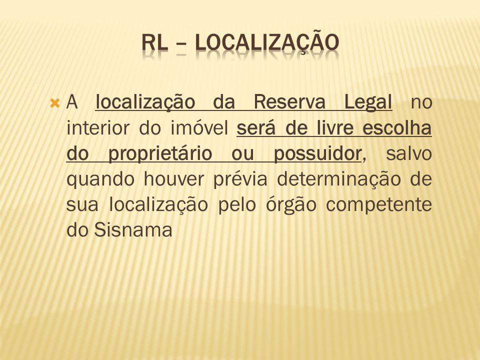 RL – localização