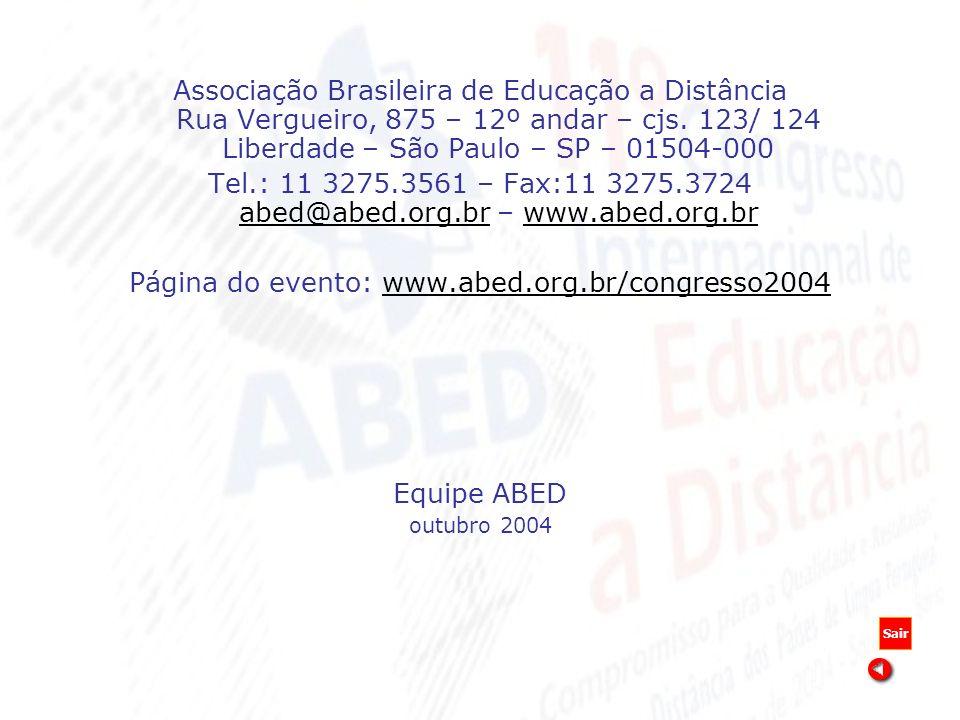 Página do evento: www.abed.org.br/congresso2004