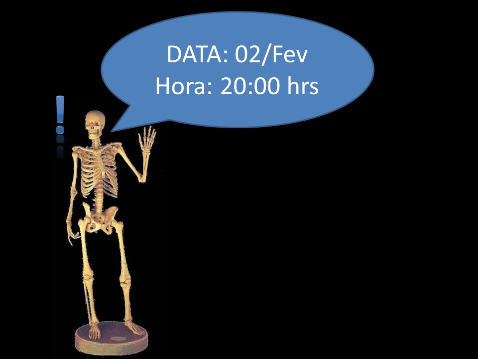 DATA: 02/Fev Hora: 20:00 hrs !