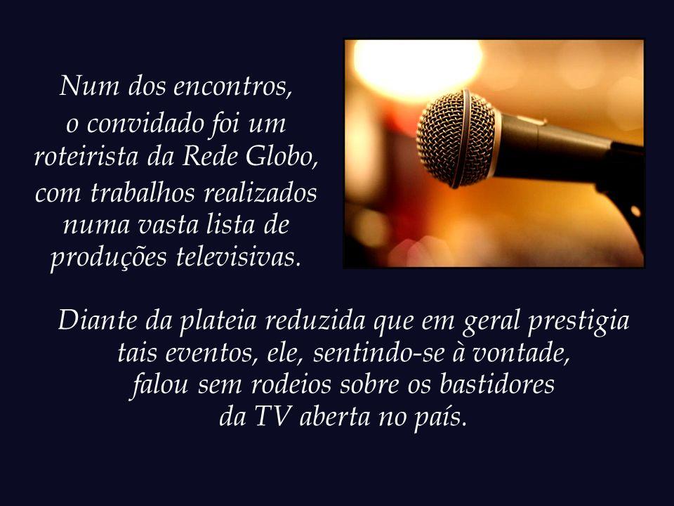 roteirista da Rede Globo,