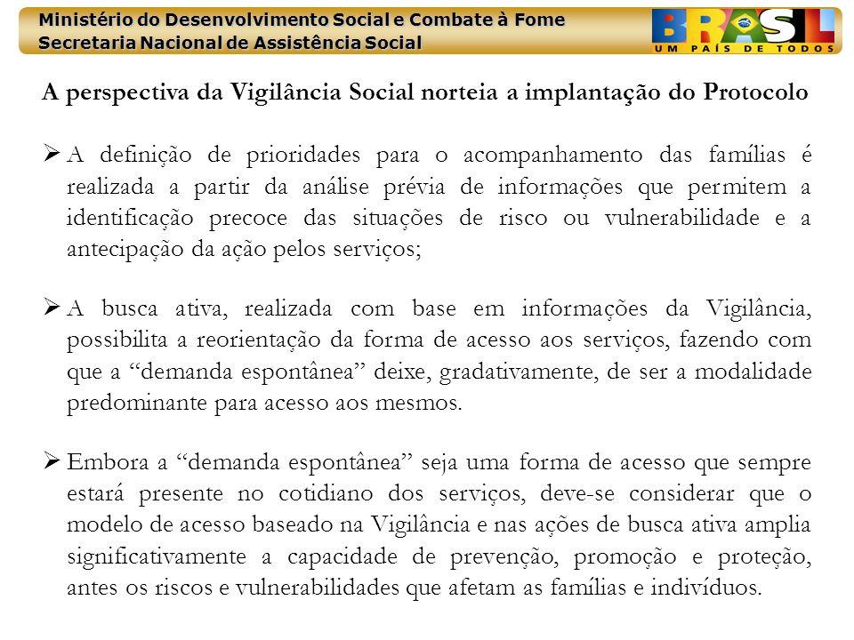 A perspectiva da Vigilância Social norteia a implantação do Protocolo