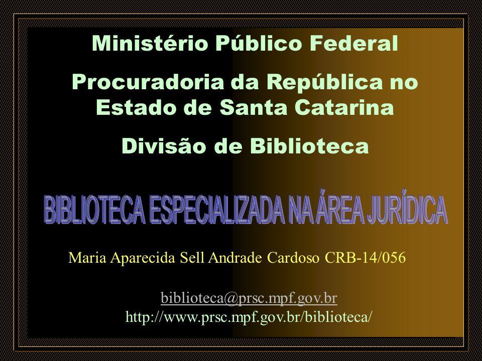 BIBLIOTECA ESPECIALIZADA NA ÁREA JURÍDICA