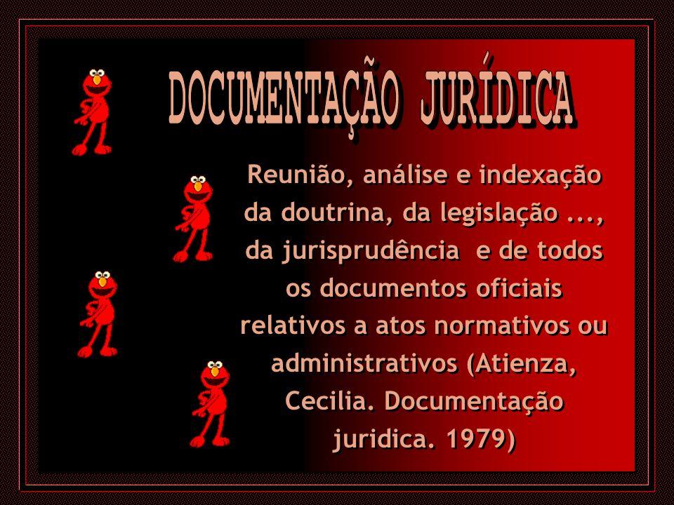 DOCUMENTAÇÃO JURÍDICA