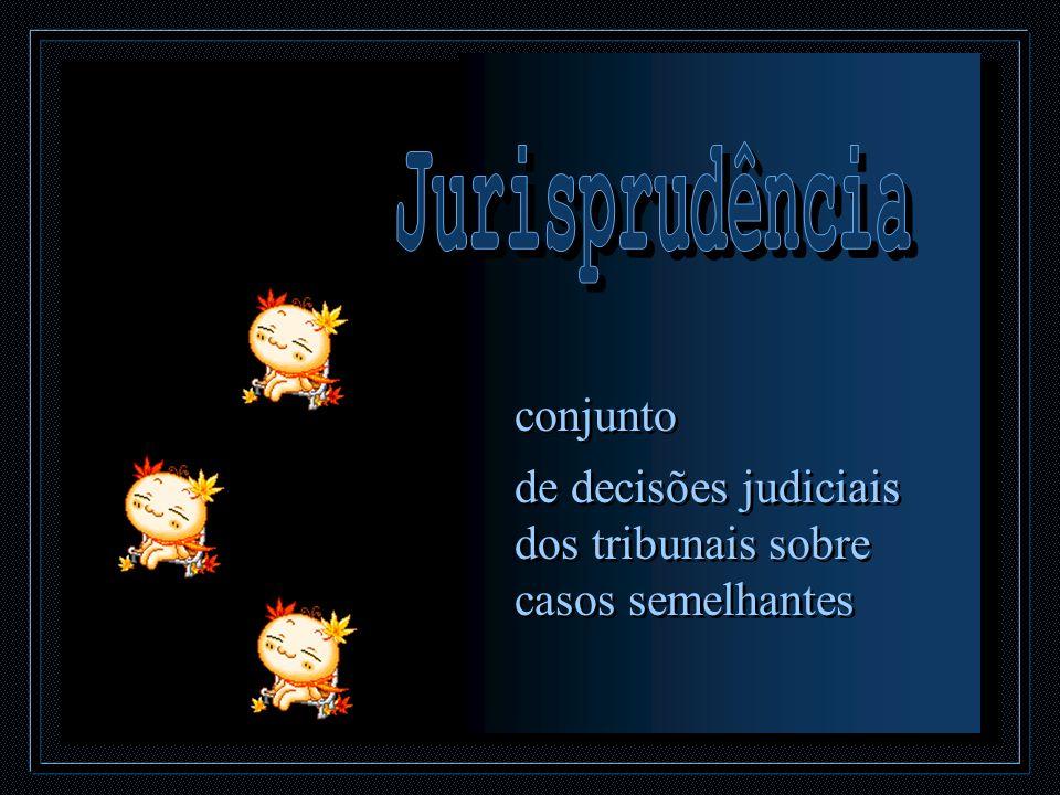 Jurisprudência conjunto