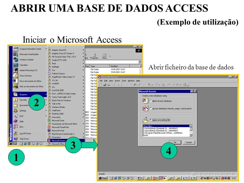 Abrir ficheiro da base de dados