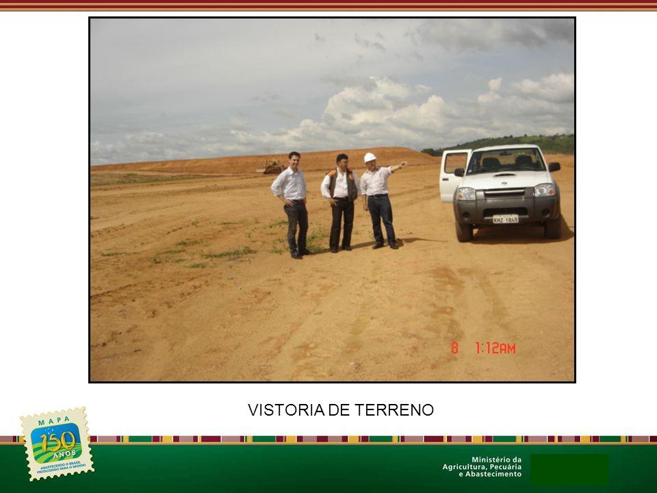 VISTORIA DE TERRENO
