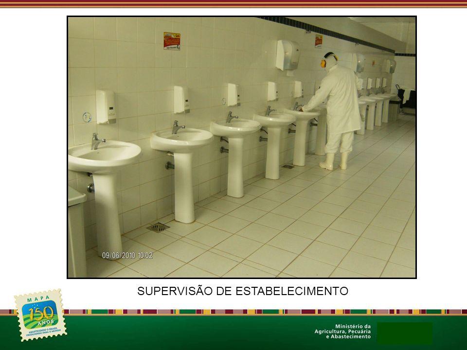SUPERVISÃO DE ESTABELECIMENTO