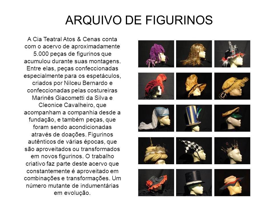 ARQUIVO DE FIGURINOS