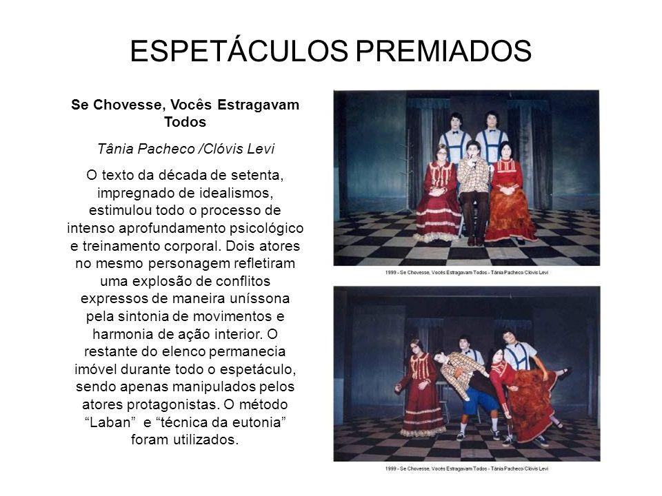 ESPETÁCULOS PREMIADOS