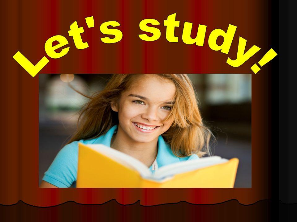 Let s study!