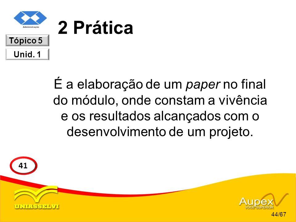 2 Prática Tópico 5. Unid. 1.