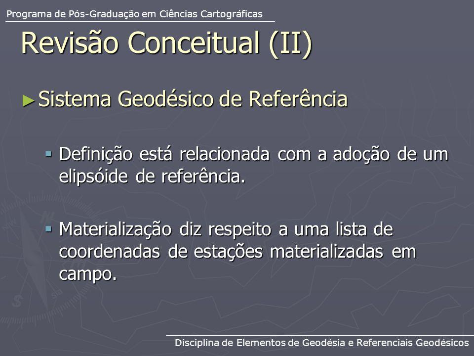 Revisão Conceitual (II)