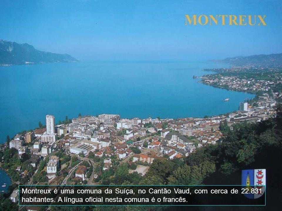 Montreux é uma comuna da Suíça, no Cantão Vaud, com cerca de 22