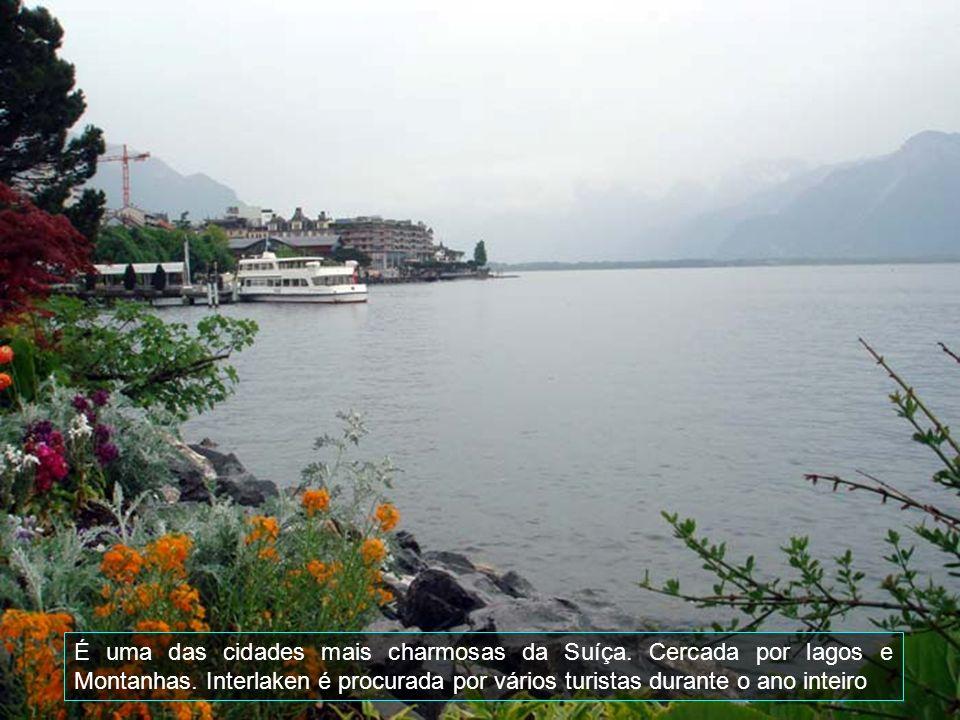 É uma das cidades mais charmosas da Suíça