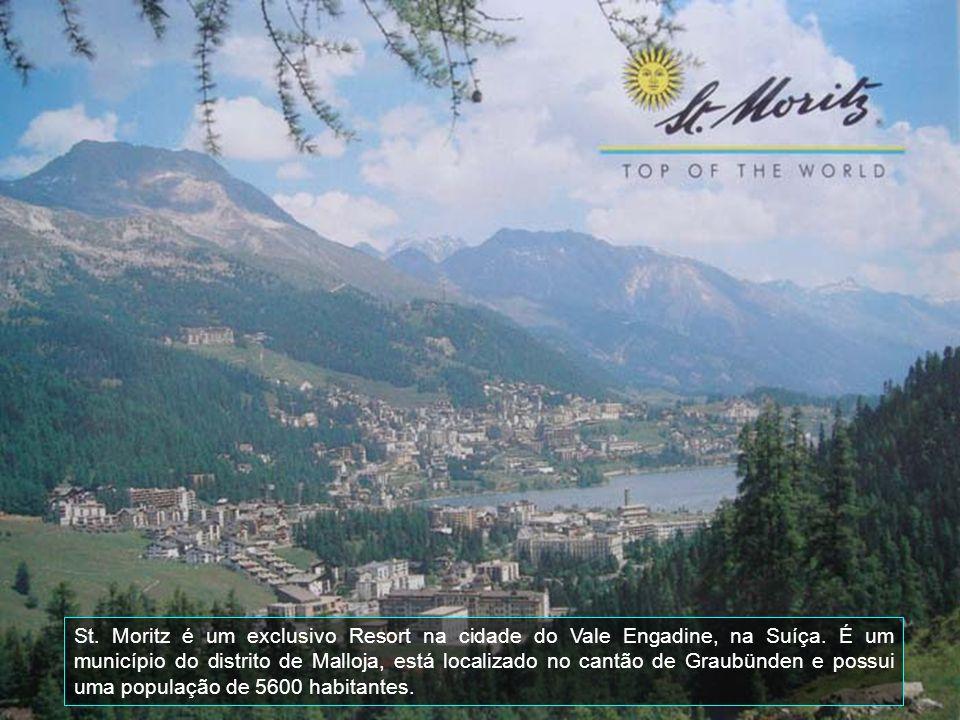 St. Moritz é um exclusivo Resort na cidade do Vale Engadine, na Suíça