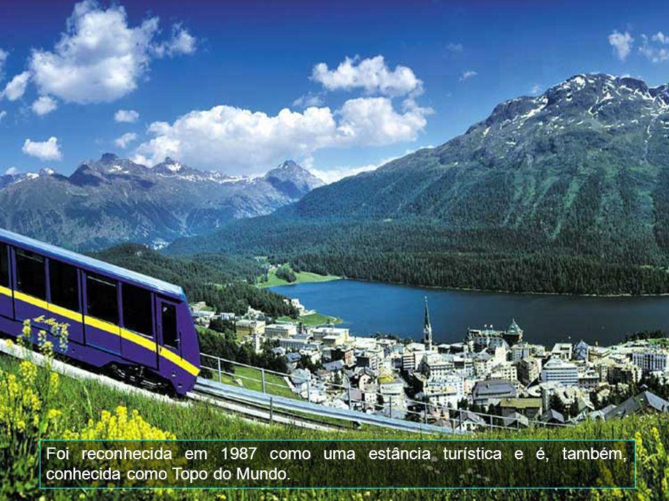 Foi reconhecida em 1987 como uma estância turística e é, também, conhecida como Topo do Mundo.