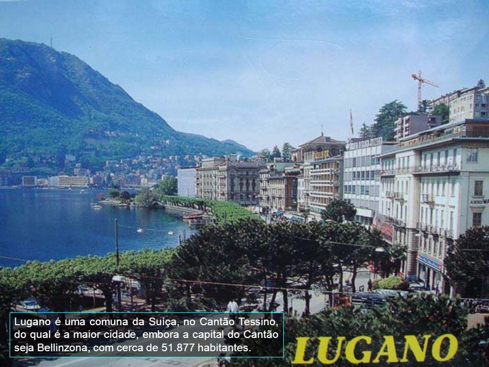 Lugano é uma comuna da Suíça, no Cantão Tessino, do qual é a maior cidade, embora a capital do Cantão seja Bellinzona, com cerca de 51.877 habitantes.