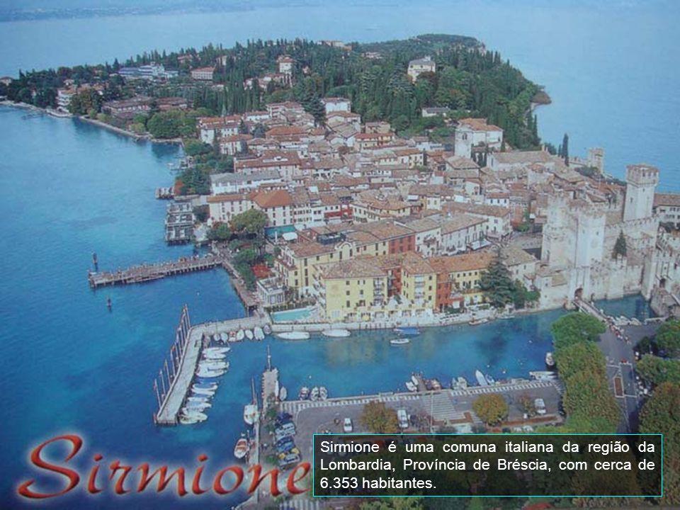 Sirmione é uma comuna italiana da região da Lombardia, Província de Bréscia, com cerca de 6.353 habitantes.
