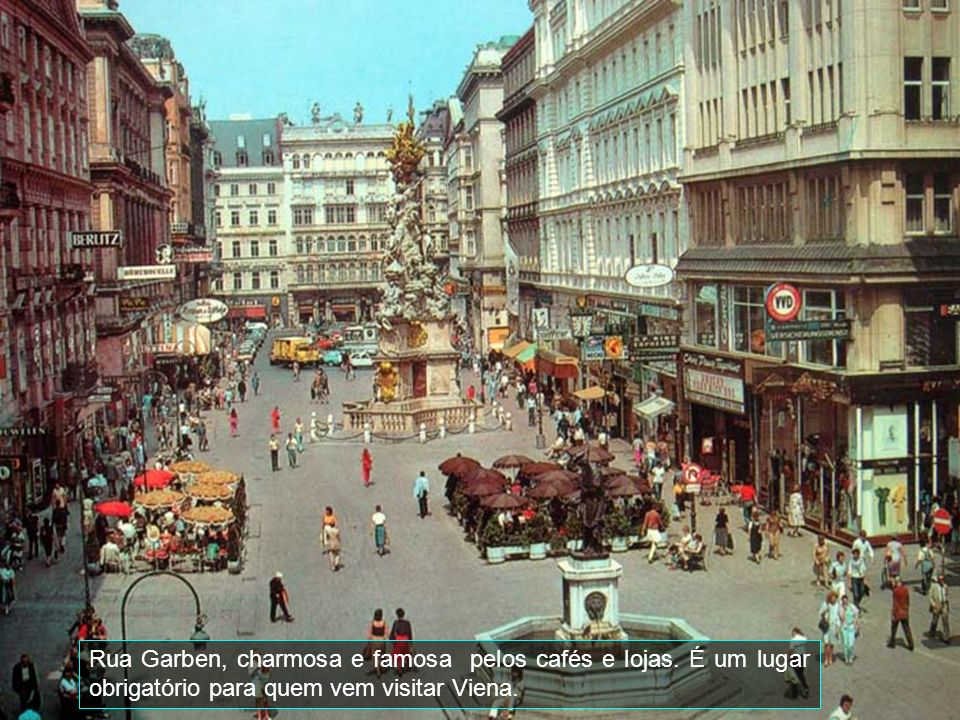 Rua Garben, charmosa e famosa pelos cafés e lojas