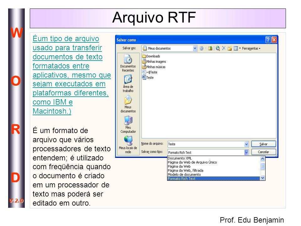 Arquivo RTF