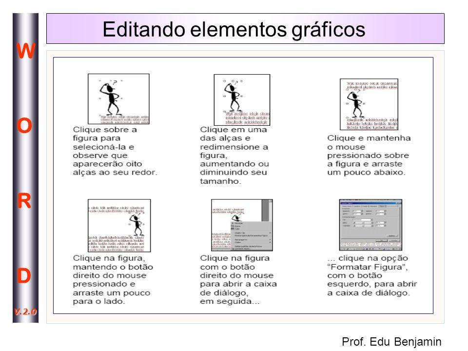 Editando elementos gráficos