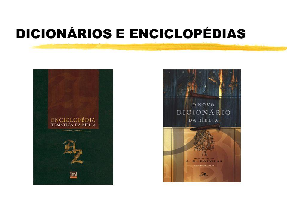 DICIONÁRIOS E ENCICLOPÉDIAS