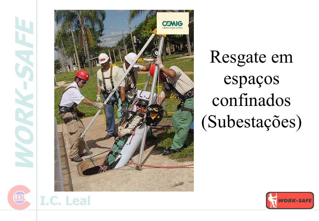 Resgate em espaços confinados (Subestações)