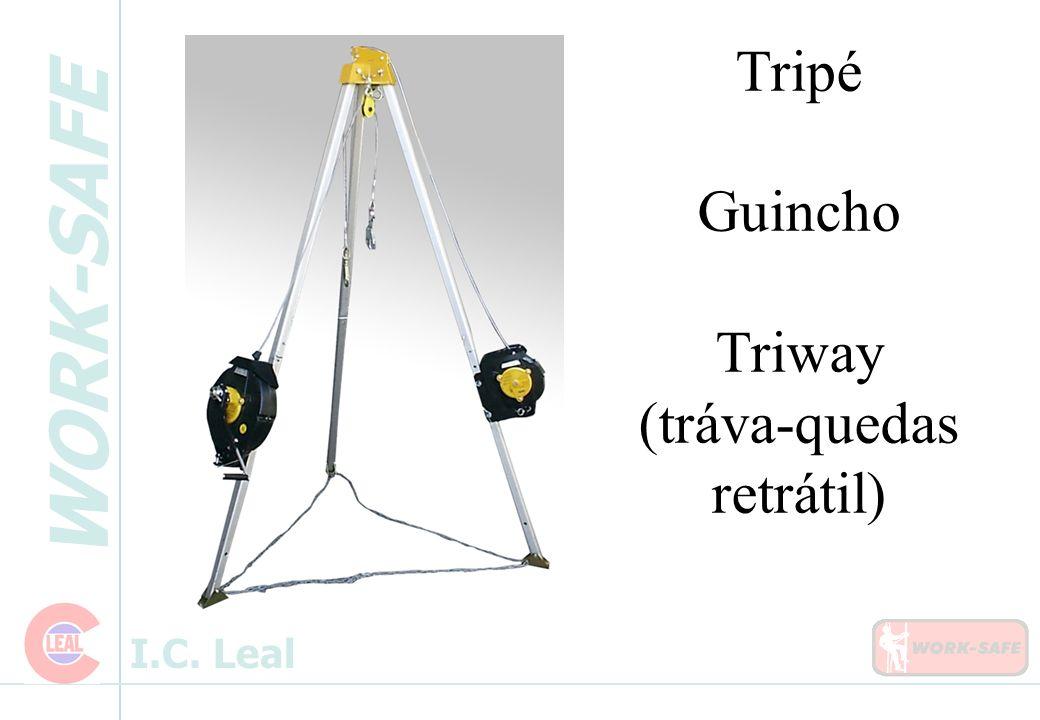 Tripé Guincho Triway (tráva-quedas retrátil)