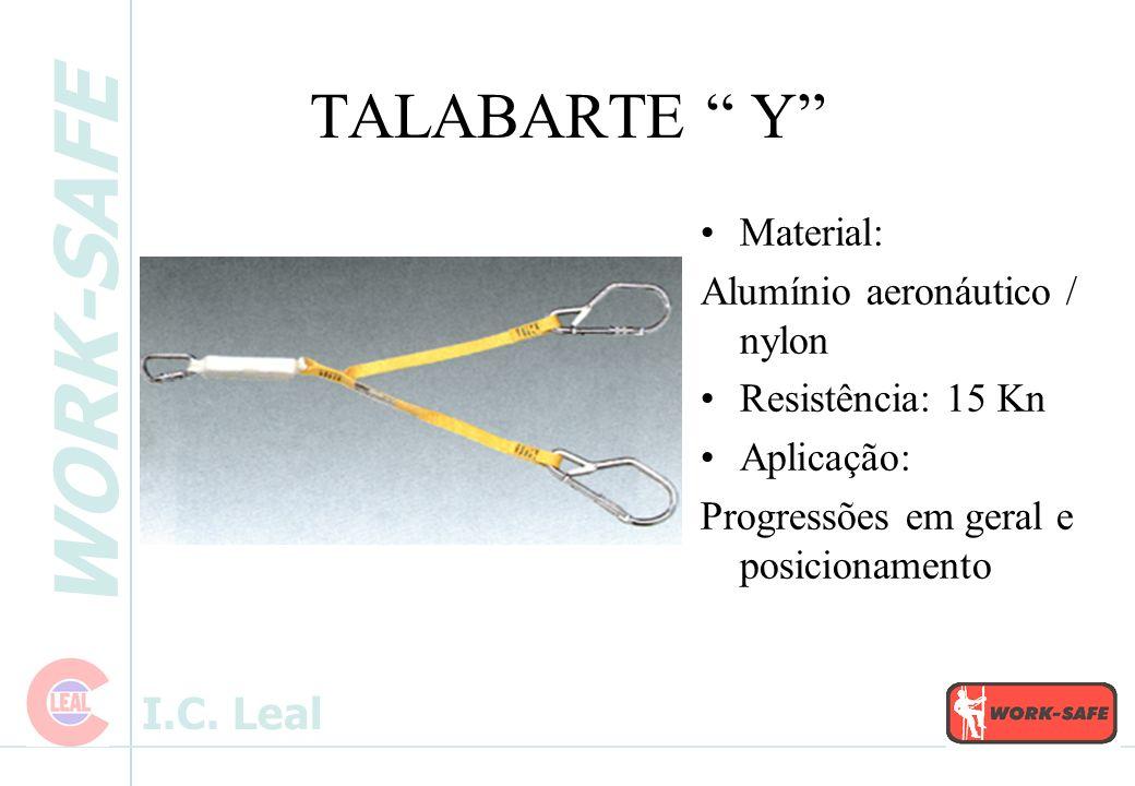 TALABARTE Y Material: Alumínio aeronáutico / nylon