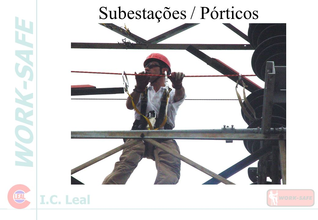 Subestações / Pórticos