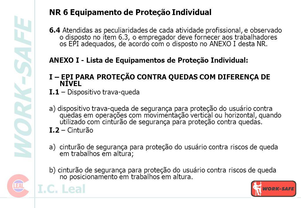 NR 6 Equipamento de Proteção Individual
