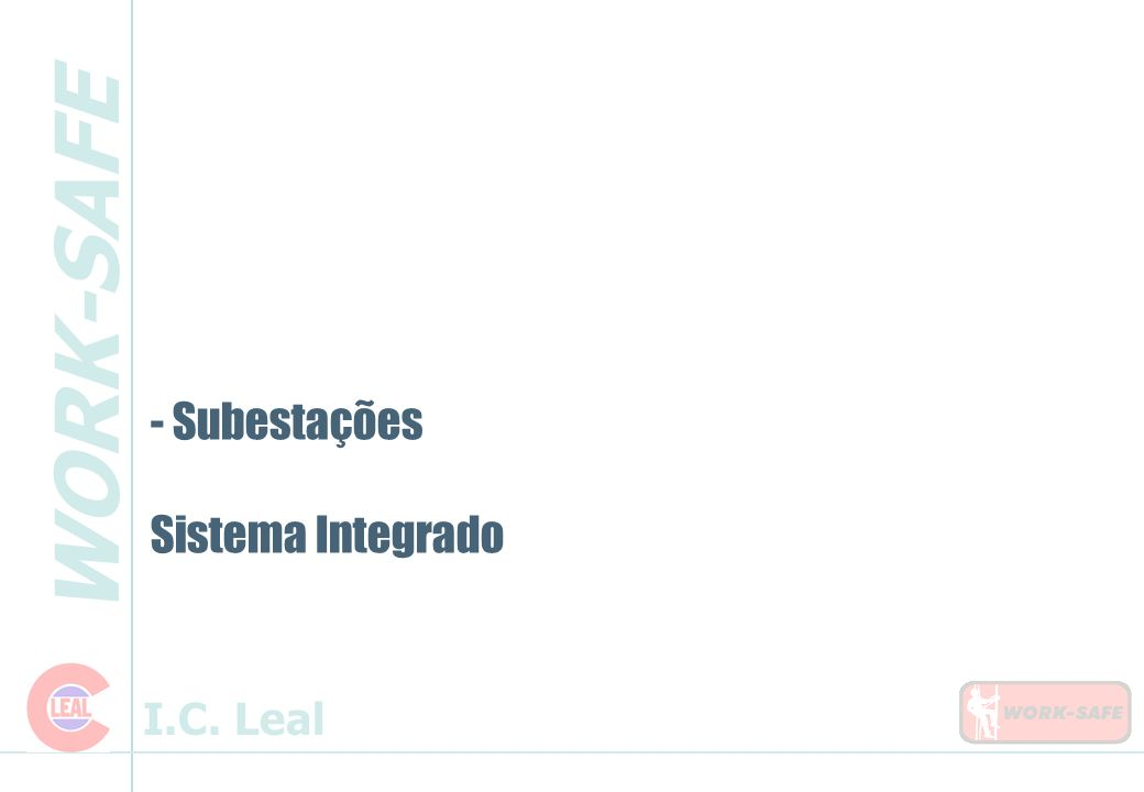 Subestações Sistema Integrado