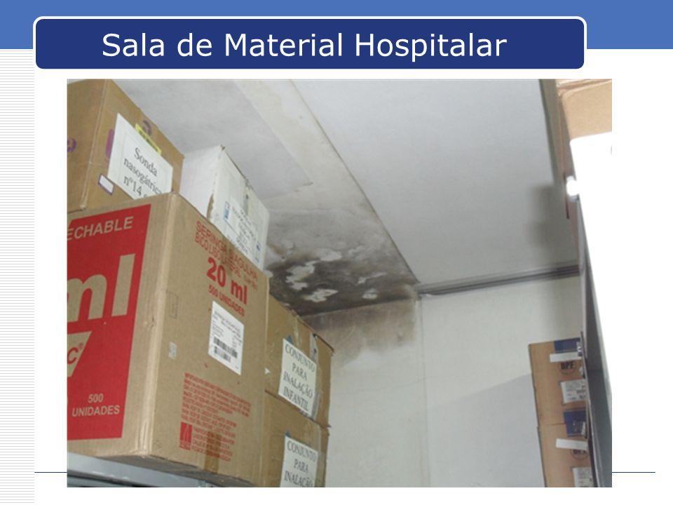 Sala de Material Hospitalar