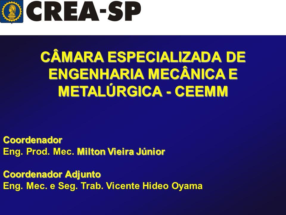 CÂMARA ESPECIALIZADA DE ENGENHARIA MECÂNICA E METALÚRGICA - CEEMM