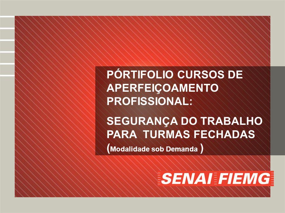 PÓRTIFOLIO CURSOS DE APERFEIÇOAMENTO PROFISSIONAL: