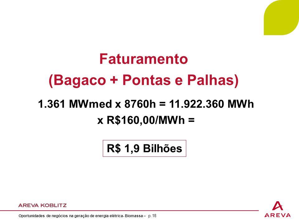 (Bagaco + Pontas e Palhas)