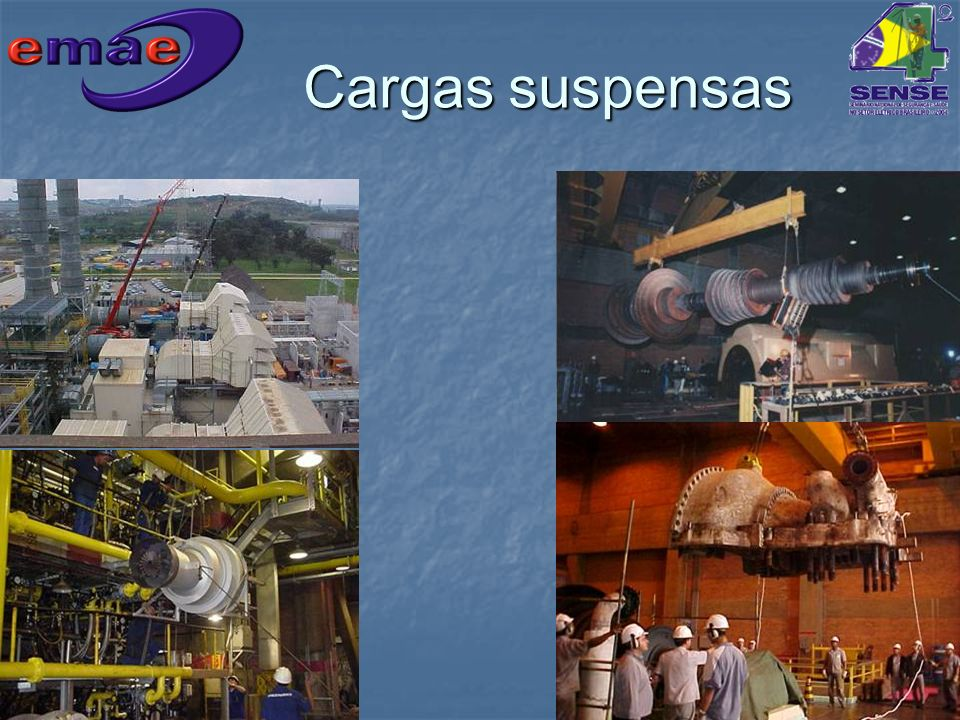 Cargas suspensas