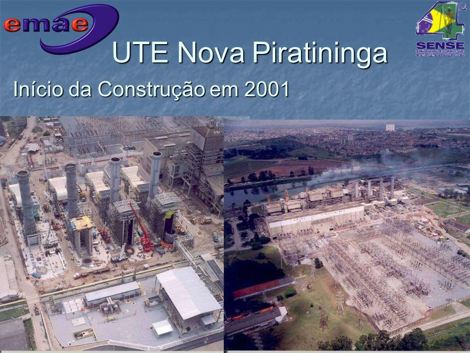 Início da Construção em 2001
