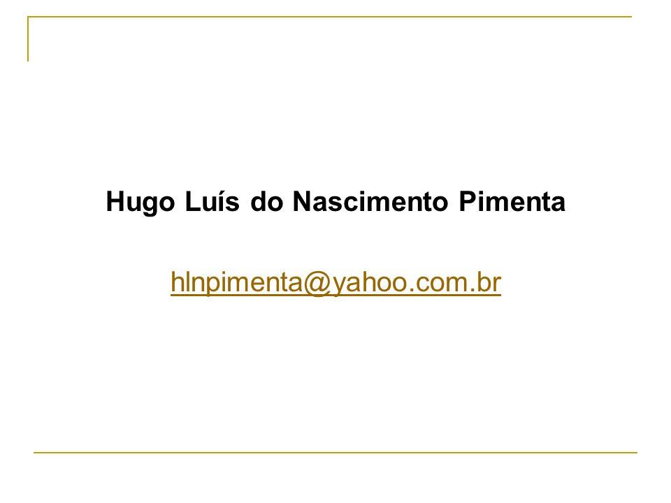 Hugo Luís do Nascimento Pimenta