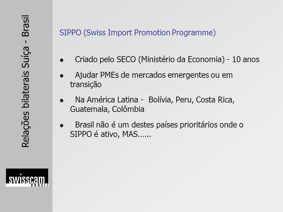SIPPO (Swiss Import Promotion Programme)