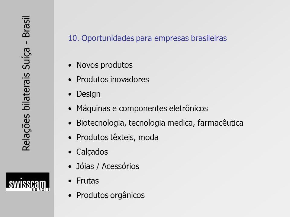 10. Oportunidades para empresas brasileiras