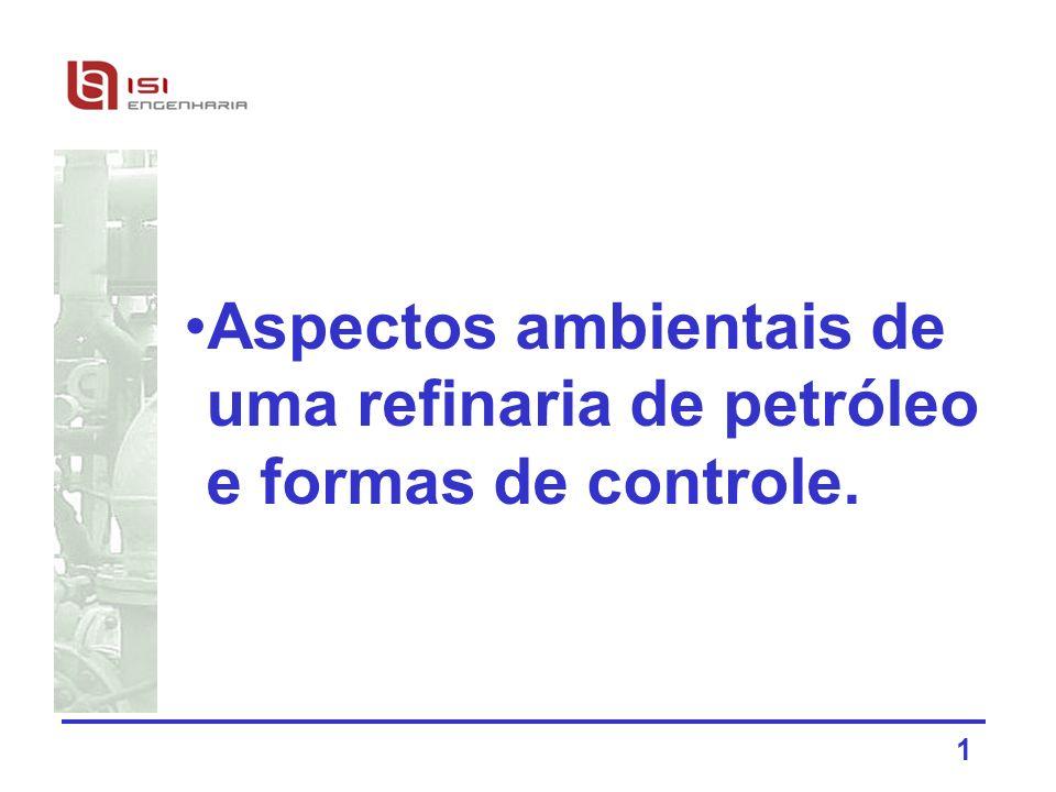 Aspectos ambientais de uma refinaria de petróleo e formas de controle.