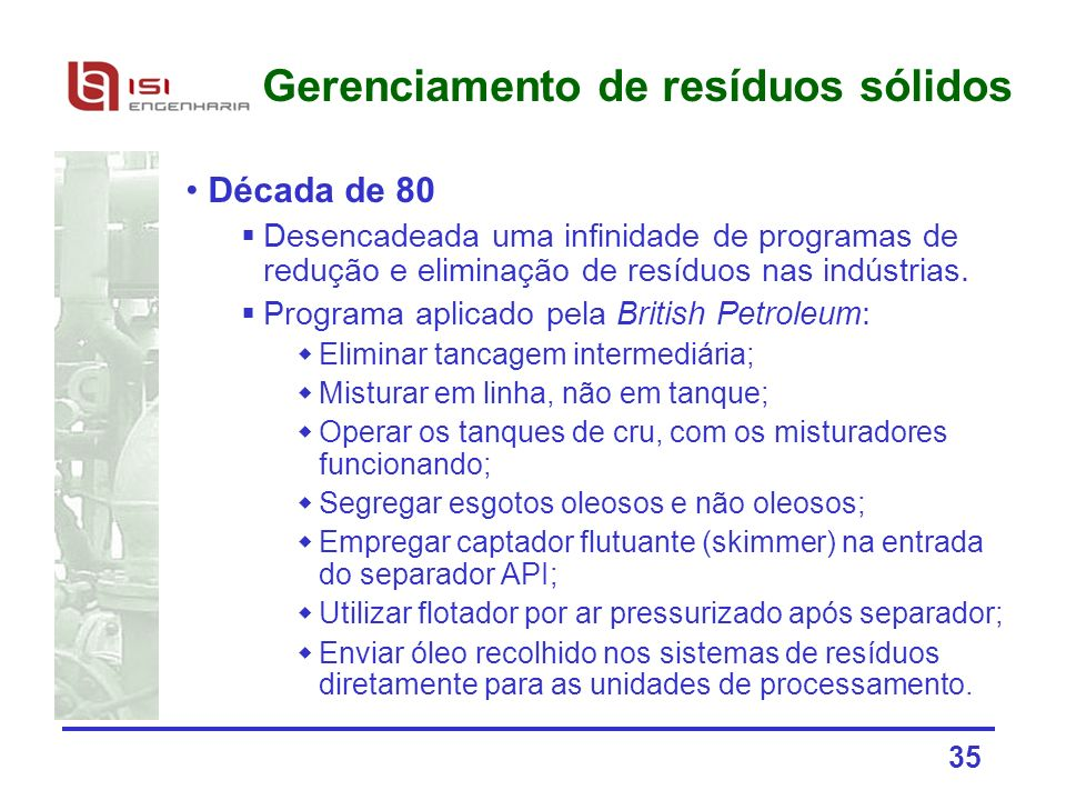 Gerenciamento de resíduos sólidos
