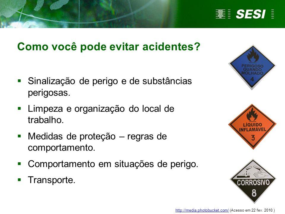 Como você pode evitar acidentes