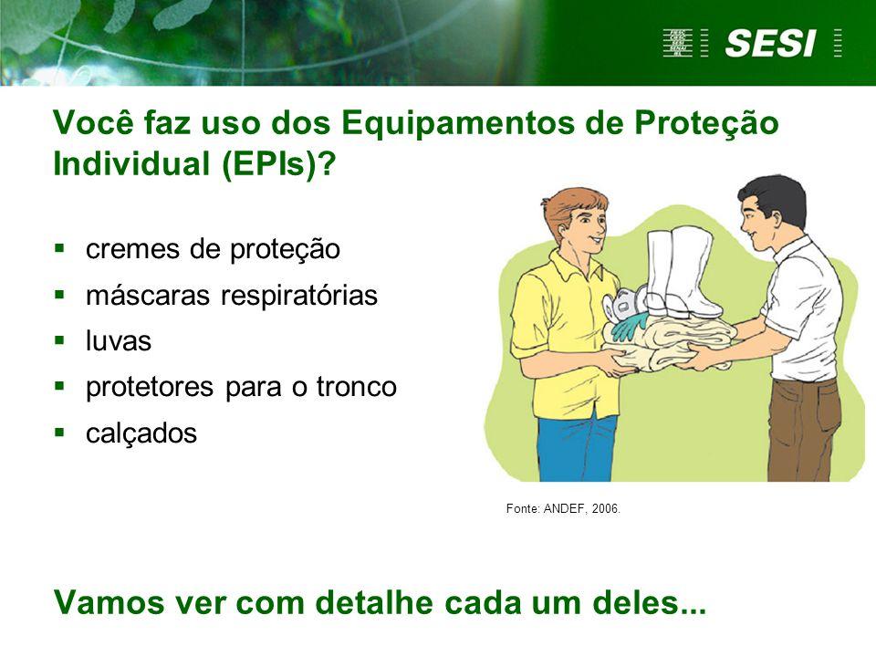 Você faz uso dos Equipamentos de Proteção Individual (EPIs)