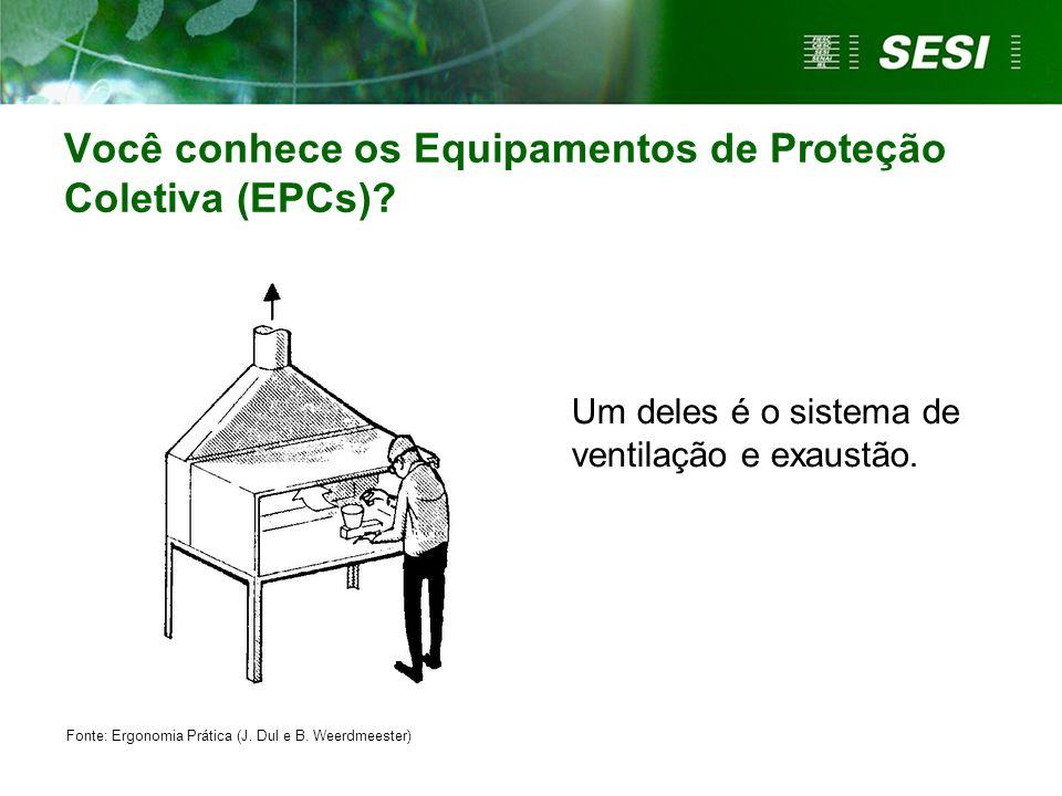 Você conhece os Equipamentos de Proteção Coletiva (EPCs)